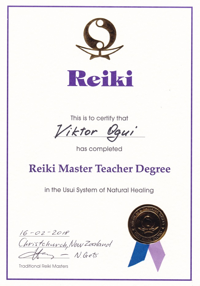 Ogui Reiki Teacher